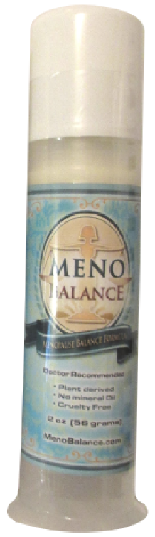 MenoBalance Cream low estrogen symptoms hot flashes menopausal symptoms