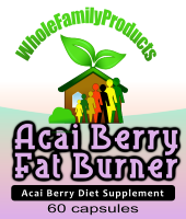 Acai Berry Fat Burner dietary supplement