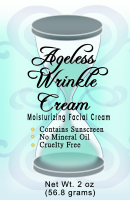 Ageless Wrinkle Cream formerly Rinkle Free Wrinkle Free natural face cream