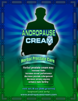 Andropause Prostate Care Cream progesterone for men