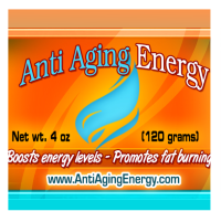 Anti Aging Energy natural face cream with HGH, collagen, essential oils for natural longevity and younger skin