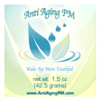Anti Aging PM night time natural longevity cream with collagen msm and jojoba