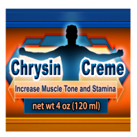 Chrysin Creme blocks conversion of testosterone to estrogen and builds lean muscle