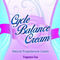 Cycle Balance Natural Progesterone Cream never heated cold processed