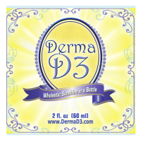 Vitamin D3 cream for depression, psoriasis etc sunshine in a bottle