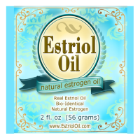 Estriol Oil for natural menopause relief vaginal dryness hot flashes flushes night sweats