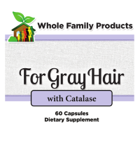 For Gray Hair with catalase enzyme to turn gray away no more gray