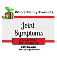Joint Symptoms with glucosamine and condroitan