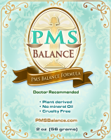PMS Balance natural progesterone cream replaces restored balance for cramps
