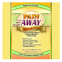 Pain Away Arthritis Cream Peppermint and Jojoba