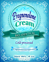Pregnenolone Cream for infertility and amenorrhea hornonal imbalance