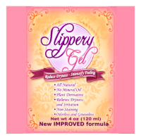 Slippery gel replaces simplee wonderful for less lubricating personal feminine lube