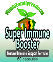 Super Immune Booster herbal immune boosting supplement graviola essiac beta glucan