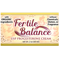 fertile balance natural organic progesterone cream