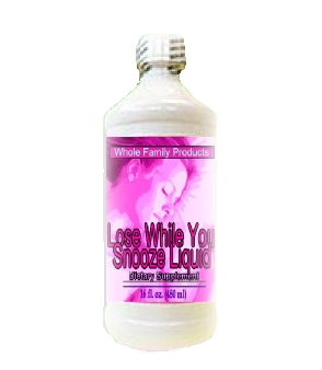 Lose While You Snooze Liquid by Whole Family Health