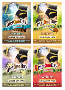 Diet One Day off the next one day diet wafers tablets day packs fast weight loss lose weight fast