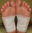 Detox Foot Pads how to put them on