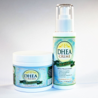 DHEA Creme for peri menopausal discomfort low libido low testosterone