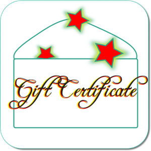 Gift Certificate Whole Family Products hormone creams supplements