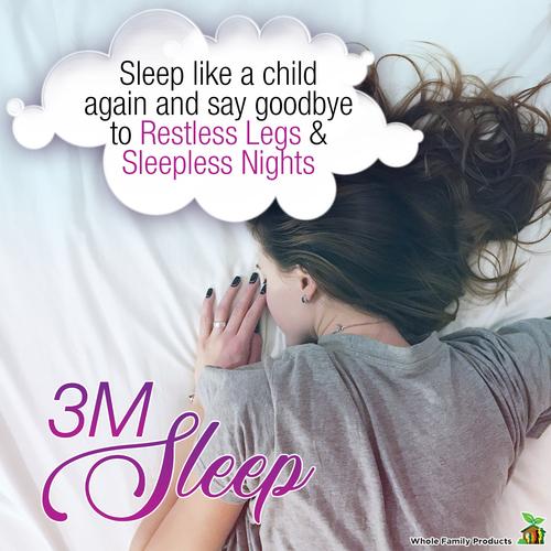 3M Sleep - Best Natural Sleep Aid Cream