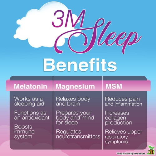 3m Sleep - Best Natural Sleep Aid