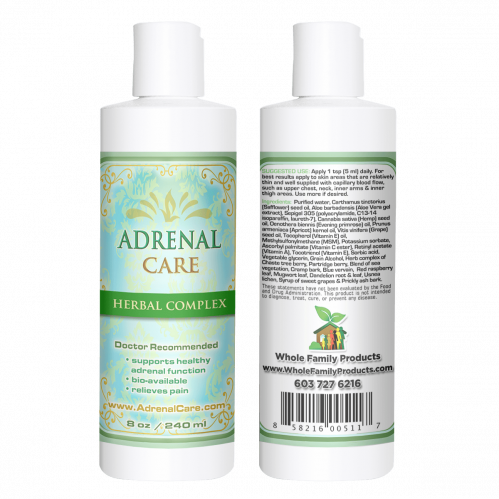 Adrenal Care Helps Adrenal Insufficiency Pain Relief
