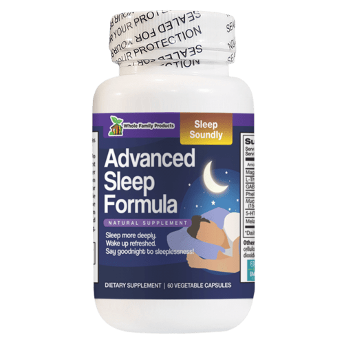 Advanced Sleep Fromula 60ct Natural Supplement