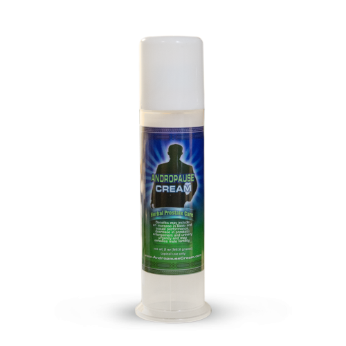 Andropause Cream 2oz Pump | Whole Family Products