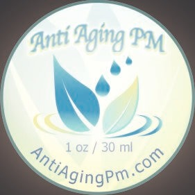 Anti Aging PM 1oz Jar Front Label