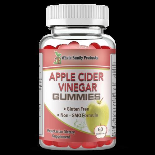 Apple Cider Vinegar Gummies 60 Capsules Helps Overall Health