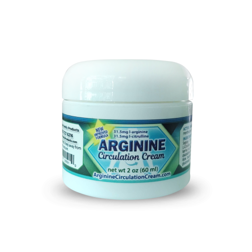 Arginine Circulation Cream 2oz Jar