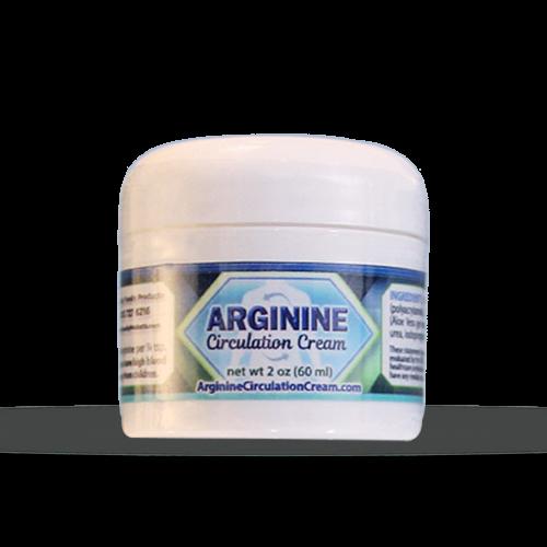 Arginine Circulation Cream 2oz Jar | Whole Family Products