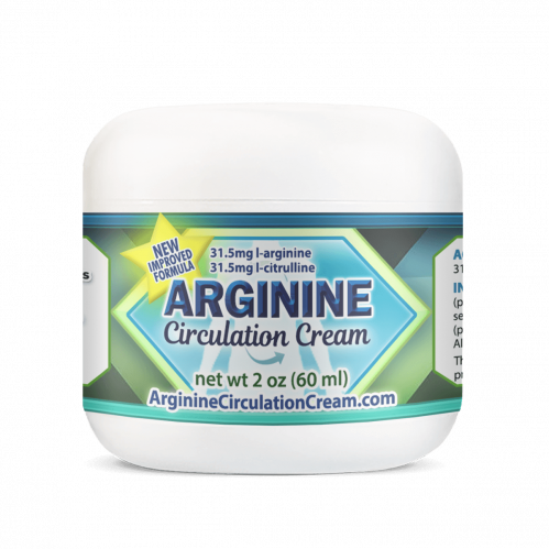Arginine Circulation Cream Helps Increase Blood Flow