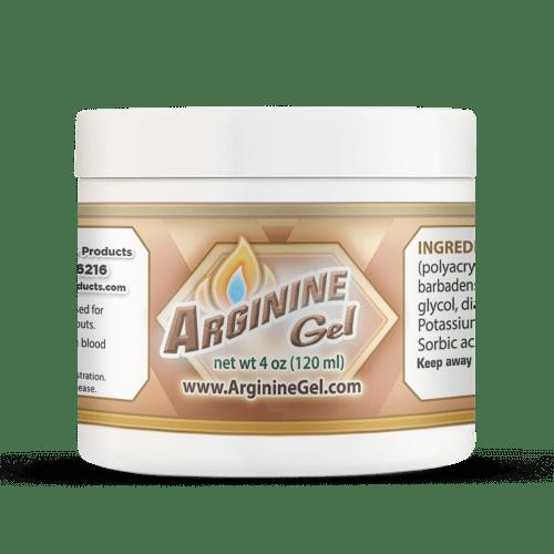 Arginine Gel 4oz Jar Help Increase Blow Flow