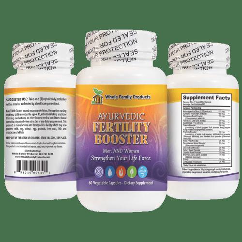 Ayurvedic Fertility Booster Natural Fertility Booster Supplement