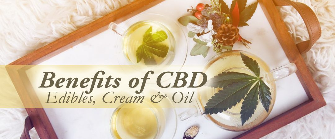 Benefits of CBD: Edibles, Cream & Oil