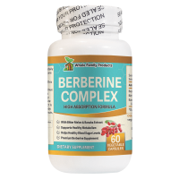 Berberine Complex 60 Capsules Support Healthy Blood Sugar Levels