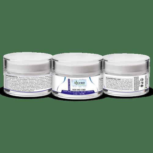 Best CBD Freeze The Pain Relief Cream
