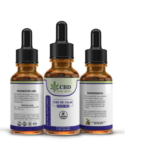 Best CBD Oil Be Calm with Triple Terpenes