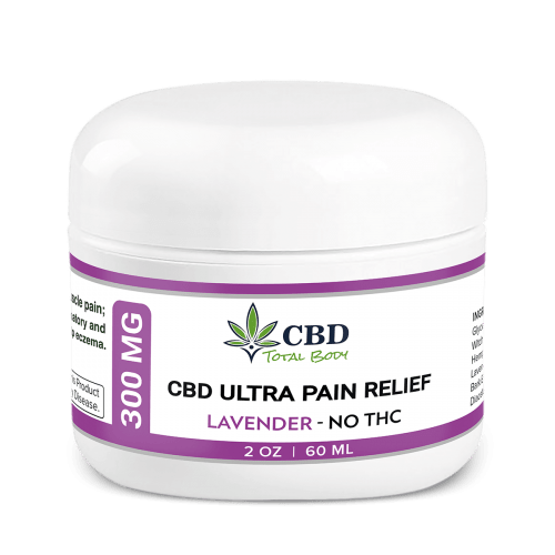 Best CBD Ultra Pain Relief Cream Lavender
