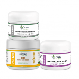 Best CBD Ultra Pain Relief Cream for Neuro & Fibro Tissue Disorders Relief