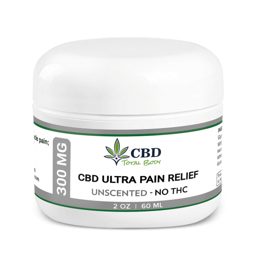 Best CBD Ultra Pain Relief Unscented Cream