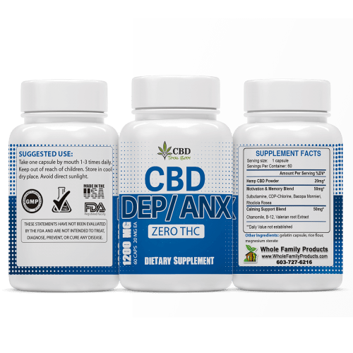 Best CBD for Depression and Anxiety