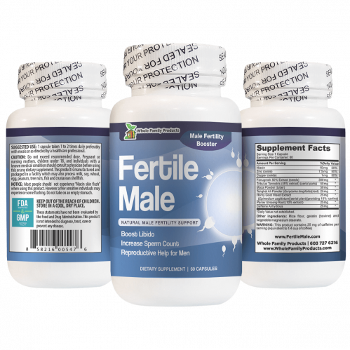 Best Male Fertility Supplement Support for Virility, Libido and Sperm Count