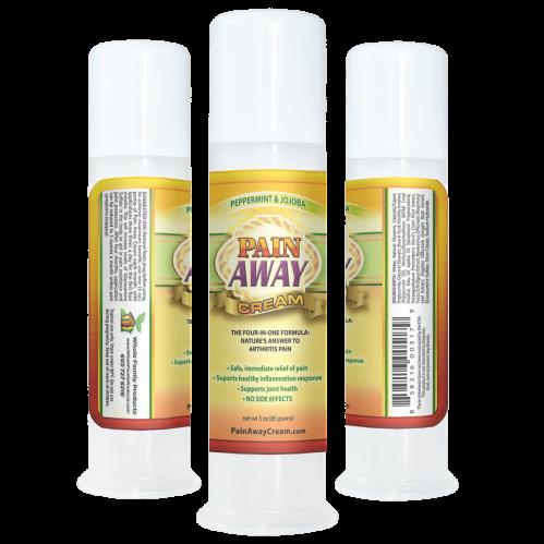 Best Natural Arthritis Pain Relief Cream 3oz Pump Peppermint