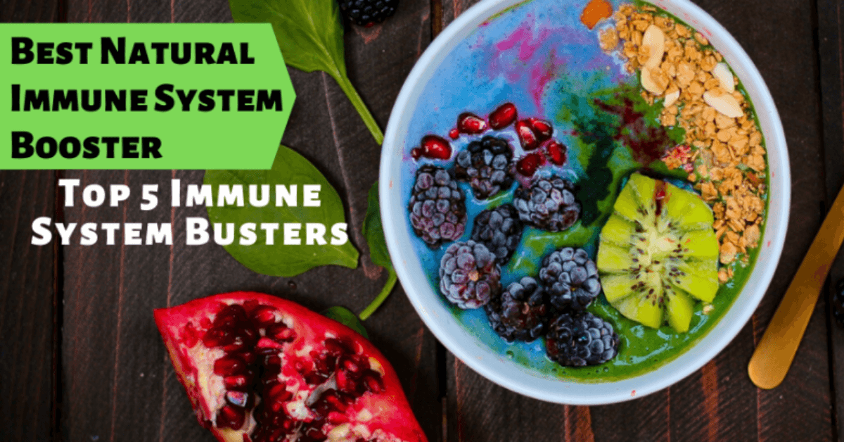 Best Natural Immune System Booster: Top 5 Immune System Busters