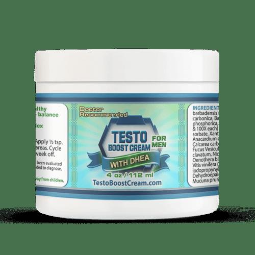 Best Testosterone Booster Cream for Men 4oz Jar