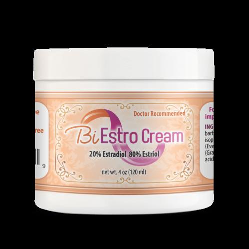 BiEstro Cream 4oz Jar Super Estrogen Cream for Menopausal Symptoms