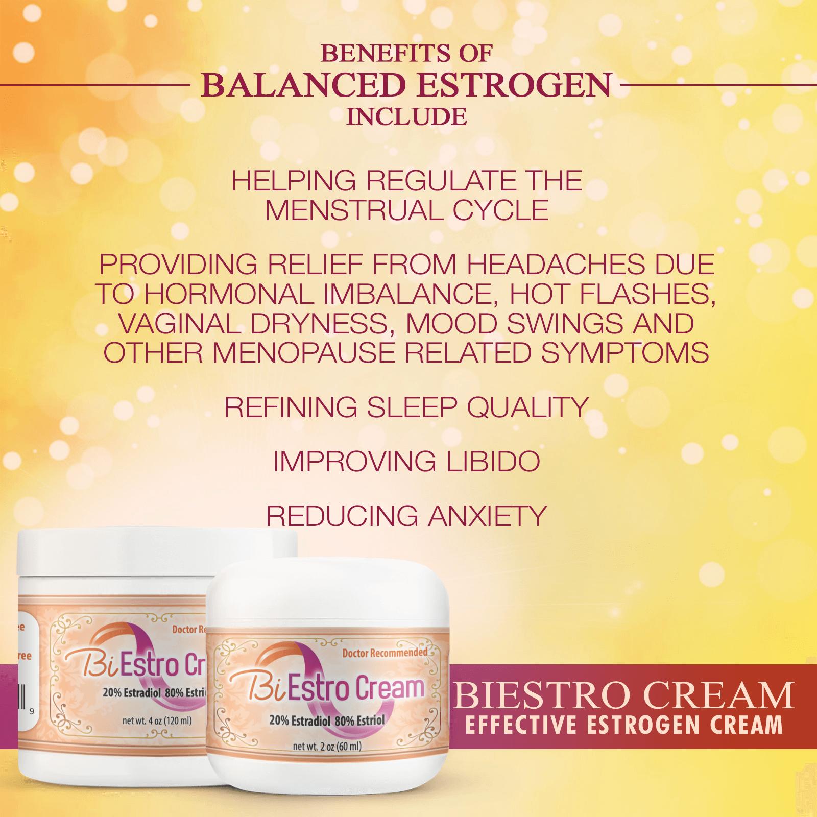 BiEstro Cream for Vaginal Dryness Infographics