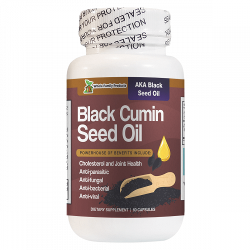 Black Cumin Seed Oil Helps Cholesterol and Joint Health